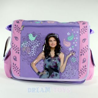 Wizards of Waverly Place Selena Gomez Birds Large Messenger Bag School