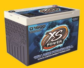 Cycle 16 Volt 16V AGM Power Cell Battery D1600 Brand New 2400 amps
