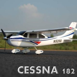 Redcat Cessna 182   Class 500 Brushless Electric Airplane RC Remote