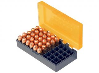 New 9mm / 380 auto 50rd Plastic ammo box with Hinge