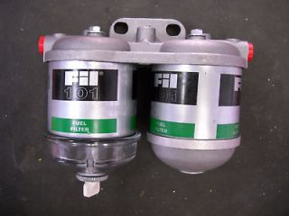 FORD TRACTOR DUAL FUEL FILTER ASSEMBLY 2000 3000 5000 3003 3102