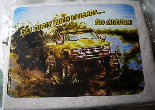 Mud Truck T shirt 4x4 bogger lifted mudder MEDIUM Chevy