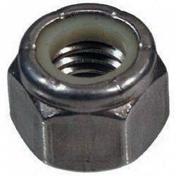 Stainless Steel Nylon Lock Hex Nuts 100/PCS 1/4 20