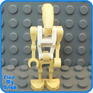 SW508 Lego Star Wars Battle Droid Minifig   White 7662