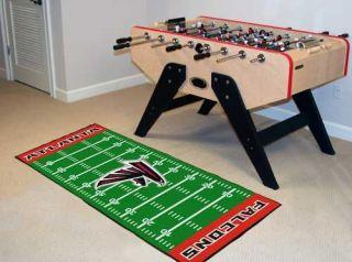 Atlanta Falcons NFL 29 x 72 Football Field Runner Area Rug Floor Mat