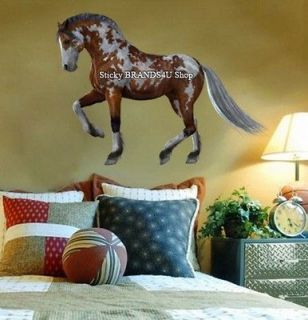 Amazing horse brown mottled Decal WALL STICKER Art Home Decor room