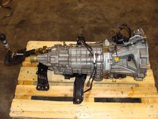 Wrx STi EJ20T Version 7 transmission STI 6 speed transmission 02 03