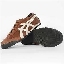 NEW MENS ASICS SHOES   ONITSUKA TIGER   MEXICO 66   BROWN   HL7C2 2916