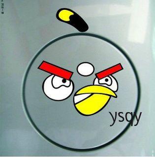 WALL ART Funny Toilet Bathroom/car/room/notebook small bird Stickers 1