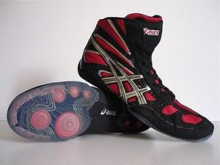 NEW 90`S VINTAGE ASICS SPLIT SECOND RETRO WRESTLING HI SHOES TOPS