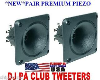 New Pair ** Piezo Horn Tweeter 3.5 Replaces Motorola KSN1005