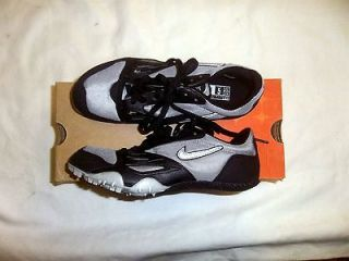 Nike Zoom Rival S Track & Field Shoes NIB Metallic Silver/Black Sizes
