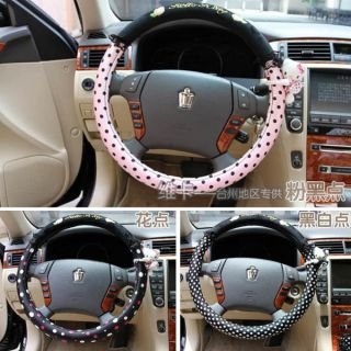 Hello Kitty Plush Auto Car Steering Wheel Holder Cover 37 38cm M Three
