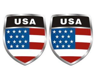 american flag car decal in Decals / Stickers