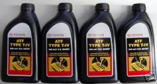 Toyota / Scion Automatic Transmission Fluid Type 4 ATF   OEM NEW