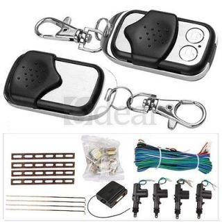 Car 2/4 Door Remote Control Central Entry Locking Kit