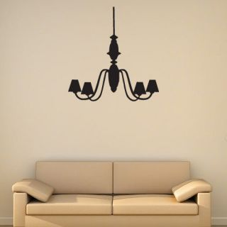 Ceiling light vinyl wall art sticker modern home interior decoration
