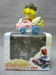 Japan Toy Wii Mario Kart Pull Back Car Play Set   Baby Peach on Cheep