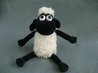Wallace and Gromit Shaun The Sheep sitting posture Plush Doll Toy