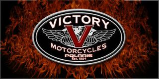 ALL RIDERS   Victory Chopper Motorcycle Custom Banner   Victory Real