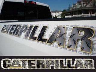 Custom Caterpillar CAT windshield window banner decal sticker Pickup