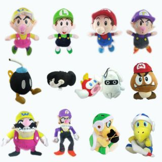 Super Mario Bros Plush Toy Character Soft Doll Stuffed Animal