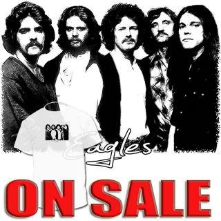 Eagles Band T shirt Eric Clapton Don Henley Joe Walsh DrawingShirts