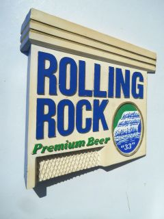 Collectibles  Breweriana, Beer  Signs, Tins  Rolling Rock