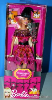 New 2012 Barbie Halloween Haunt Witch Doll Mint in the Box NRFB
