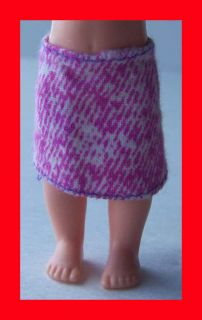 KELLY BARBIE KID SISTER DOLL CLOTHES CLOTHING FASHION OUTFIT PURPLE