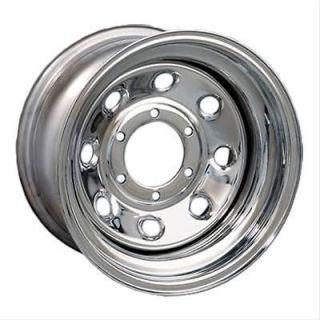 Bart Wheels Super Trucker Chrome Wheel 15x10 8x6.5 BC Set of 4