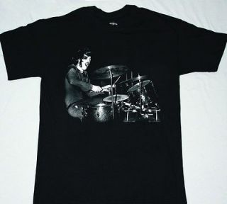 JOHN BONZO BONHAM THE BEAST LED ZEPPELIN DRUMS DRUMMER S XXL NEW BLACK
