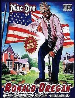 MAC DRE Ronald Dregan rip hip hop west coast rap photo glossy t shirt