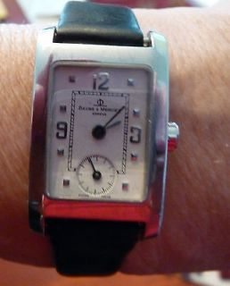 Baume & Mercier Hampton Classic Ladies Quartz Watch Model 8747