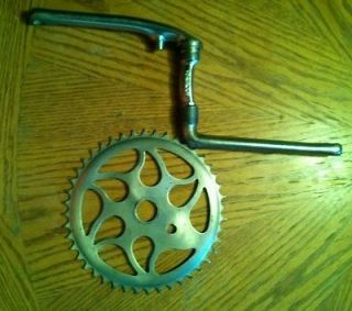 Western flyer/fireston​e bicycle crank