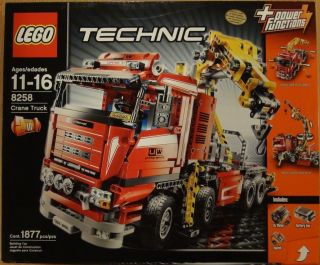 Lego 8258 Crane Truck, Huge Set, MISB USA