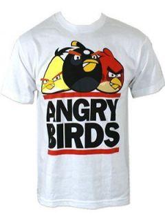 Angry Birds Run Bird White T Shirt