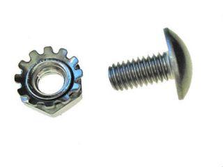 Schwinn Stingray Krate bicycle fender rivet screws with nuts stainless