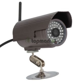 CMOS Gun style Wireless IP Net Camera With IR CUT WIFI Function 48