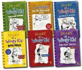 New Diary of a Wimpy Kid Collection   6 books box set   Brand New Fast