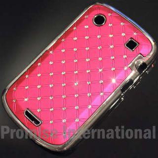 Swarovski Crystal Bling Hard Case Cover For BlackBerry Bold 9900 9930