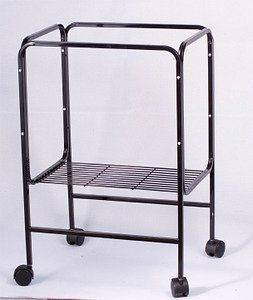 Cage Connection Table Top Bird Cage Stand 28 High For Both 18 x 14