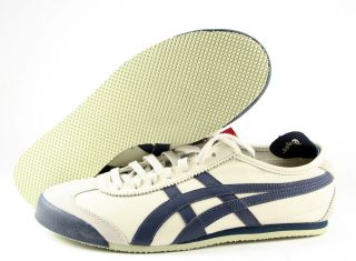 1659] ASICS ONITSUKA TIGER MEXICO 66 MEN BIRCH/INDIA INK SZ. 7.5 TO 13