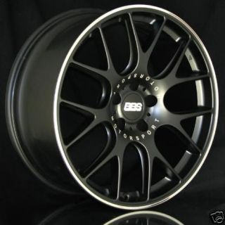 The New BBS CH R Wheel Black (20) BMW E60 M5