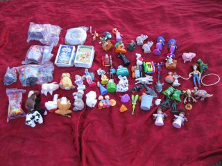 Mixed Lot Kids Meal Toys McDonald & Burger King 8 New Disney Toy Story