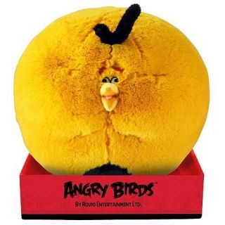 Angry Birds Orange Globe Bird Talking 16 Inch Plush