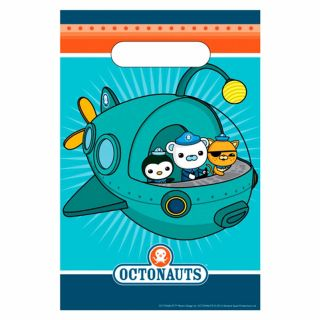 Octonauts Party Adventure Barnacles Kwazii Peso Plastic Gift Loot