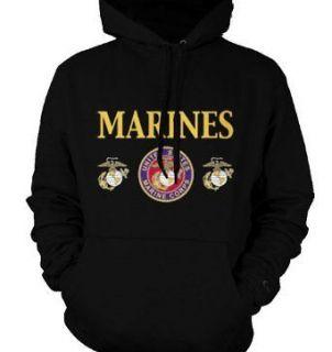 United States Marine Corps Sweatshirt Hoodie USMC Portal Pullover