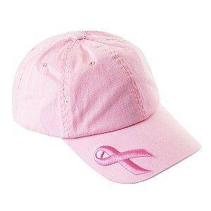 NEW BASEBALL CAP STYLE PINK BREAST CANCER AWARENESS HAT CAP