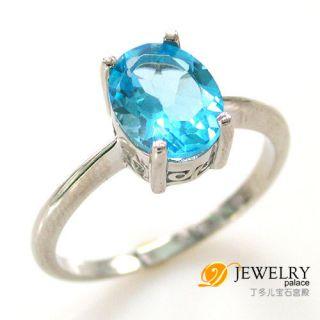 swiss blue topaz ring in Fine Jewelry